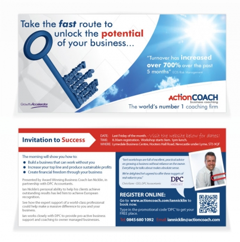A double sided DL design for Action Coach