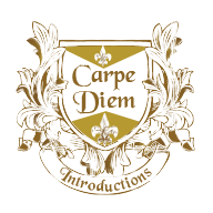 Carpe Diem Introductions logo design - by am:pm graphics