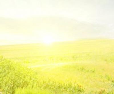 Horizon showing hope
