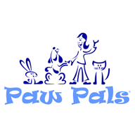 Paw Pals logo design - by am:pm graphics